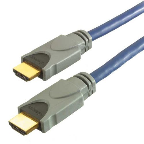 Vivanco HDMI Connection - Cable HDMI, azul