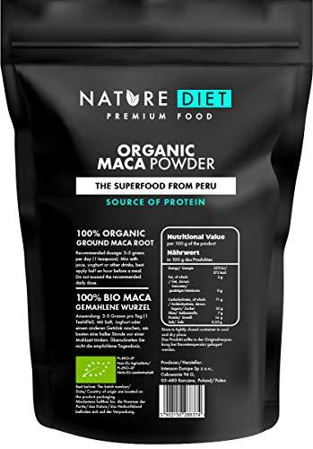 Nature Diet - Maca ecológica, 1 kg