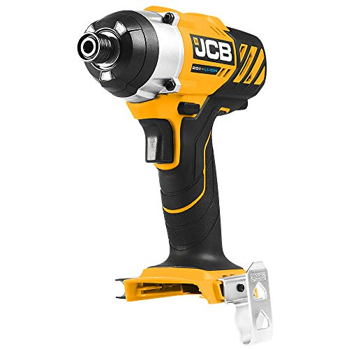 JCB Tools - JCB 2 Piece Tool Kit - Including JCB 20V Impact Drill Driver - JCB 20V Reciprocating Saw - 2 x 4.0Ah Batteries - 2.4A Fast Charger and Tool Bag