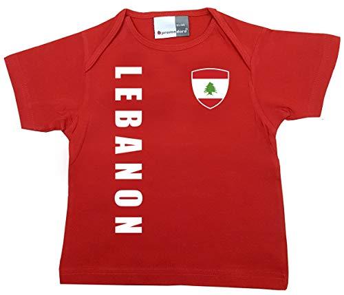 aprom Libanon Baby T-Shirt - Trikot - WM EM No.1 R LEB (80/86)