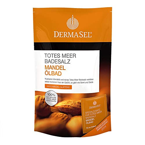 DERMASEL Totes Meer Badesalz+Mandel SPA 1 P