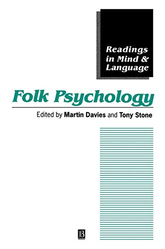 Folk Psychology: The Theory of Mind Debate