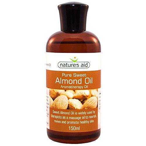 Natures Aid Mandelöl, reines, Süßmandelöl, Massageöl, trockene Haut, 150 ml