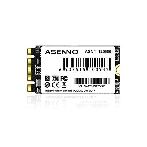 ASENNO M.2 SSD 120GB SSD NGFF 2242MM unidad de estado sólido