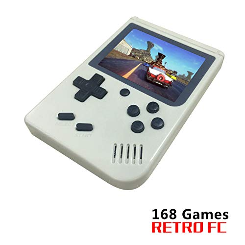 ★Built-in 168 classic games . It will take you back to your childhood ★Digital multi-platform device , can play on TV,batteries included ★Come with a rechargeable lithium battery and a USB cable , 6 hours of continuous game play ★Convenient size and ...