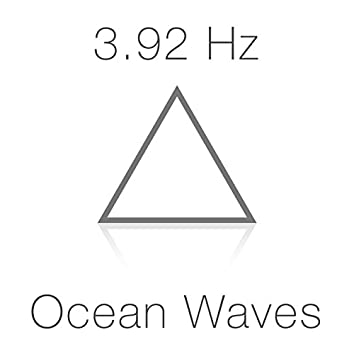 3.92 Hz Delta Wave Schumann Sub-Resonance and Ocean Waves for Deep Sleep