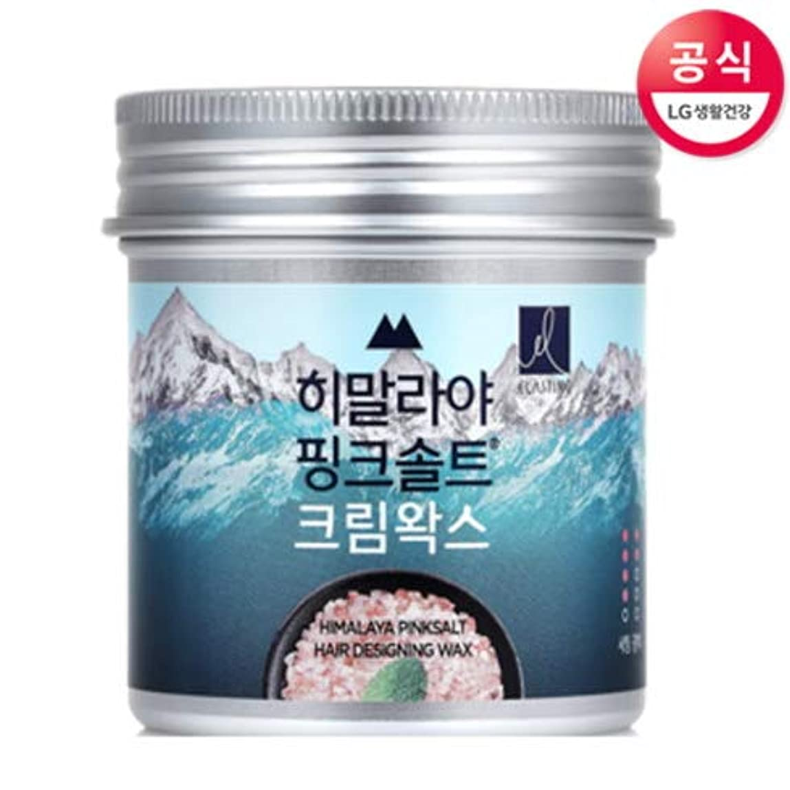 おなじみの破壊的なにじみ出る[LG HnB] ELASTINE Himalaya Pink Salt Cream Hair Wax/エラスチンヒマラヤピンクソルトクリームヘアワックス80ml(海外直送品)