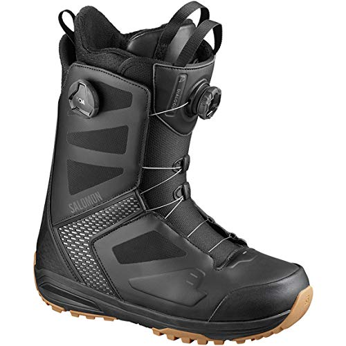 SALOMON Dialogue Focus Boa Snowboard Laarzen UK 12 Zwart