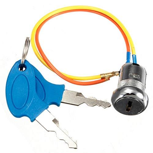YUSHAOLI YSLI® Llave de Contacto Interruptor Bloquea 2 Llaves 2 Hilos for...
