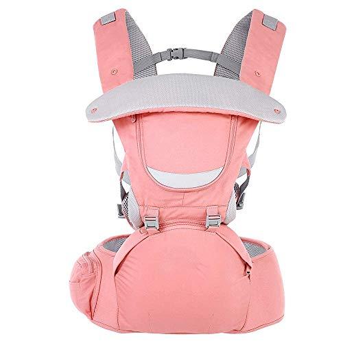 WANGXIAO Baby Carrier, Ergonomisch Ademend 0-36 Maanden 3 In 1 Verstelbare Hip Seat Pasgeboren Taille Kruk Knuffel Pocket Baby Sling Rugzak.