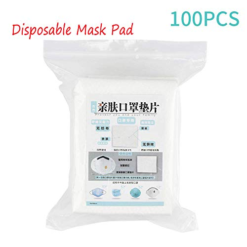 XIUHU - 100 Cuscino Filtrante para Mascherine USA e Getta, Isolanti, Antipolvere e Traspirante, in Cotone, (100pcs Cuscino Filtrante)