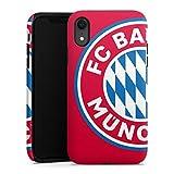 DeinDesign Coque Compatible avec Apple iPhone XR Coque renforcée Coque Antichoc FC Bayern Munich...