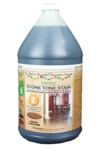 Kemiko stone tone concrete stain (english red)