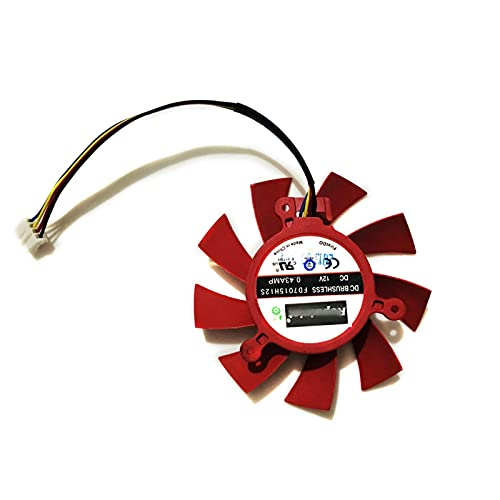 GPU VGA Cooler Graphics Card Fan FD7015H12S 4pin 4lines For XFX Video Cards...