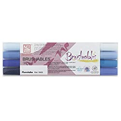 Kuretake Zig Brushables hand lettering supplies
