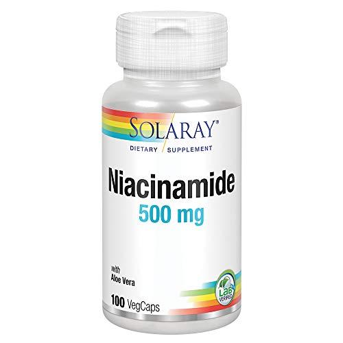 ナイアシンアミド(ビタミンB3) 500mg 100粒 [海外直送品]