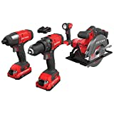 Best Cordless Power Tools - CRAFTSMAN V20 Cordless Drill Combo Kit, 4 Tool Review