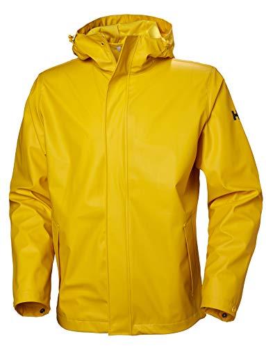 Helly Hansen Herren Moss Wandern Wasserdichte Jacke, gelb (Essential Yellow), XL