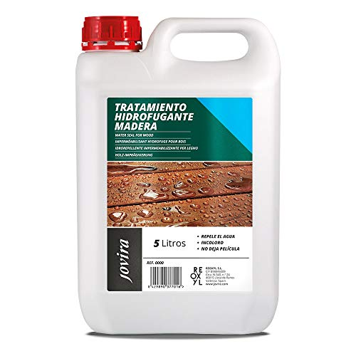 TRATAMIENTO HIDROFUGANTE PARA MADERA Líquido protector hidrófugo para madera. (5 Litros)
