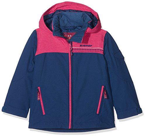 Ziener Kinder ANETE jun (Jacket ski) Skijacke, Estate Blue, 164