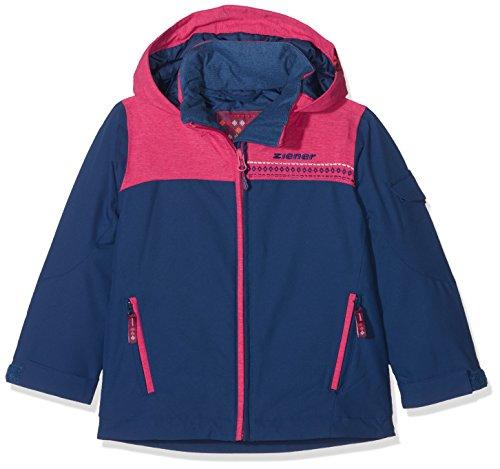 Ziener Kinder ANETE jun (Jacket ski) Skijacke, Estate Blue, 176