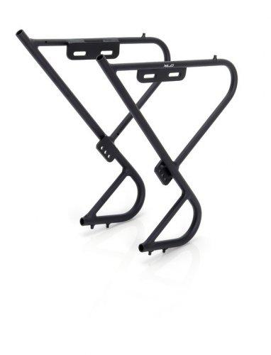 XLC Unisex– Erwachsene Lowrider-Gepäckträger LR-F02, Schwarz, One Size