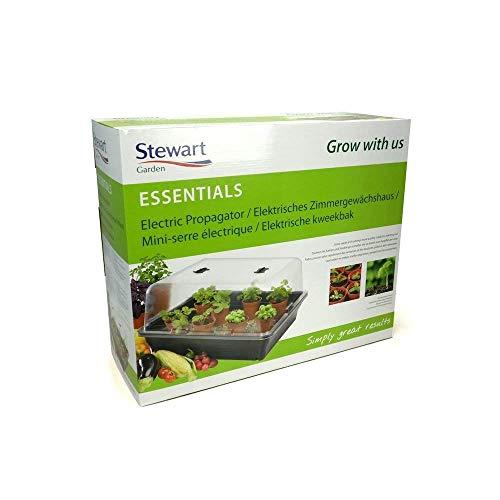 GardenMarketPlace Stewart Essentials - Invernadero eléctrico grande (52 x 42 x 28...