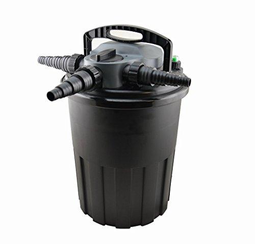 Jebao CBF-15000 Pressurized UV Filter, Black