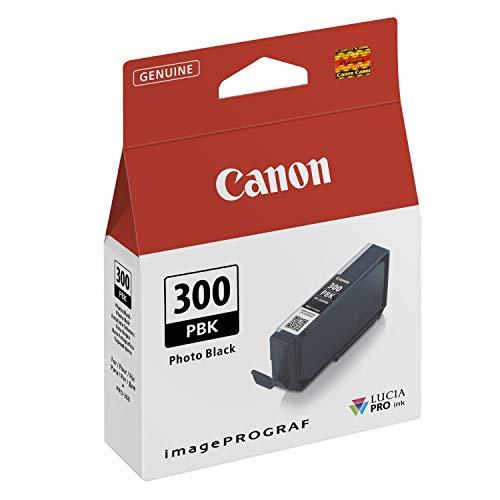 Canon Tintenpatrone PFI-300PBK - Foto schwarz 14,4 ml - Original für Tintenstrahldrucker