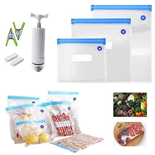 Vakuumbeutel, 15 Beutel Vakuumierbeutel Für Alle Vakuumierer & Lebensmittel Vakuumiergerät