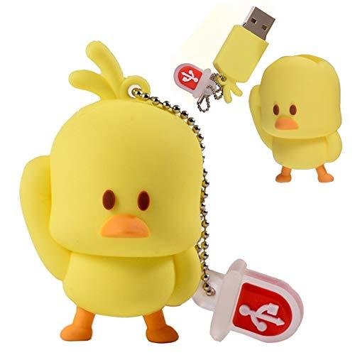 Pen drive de 32Gb Colecionável e Divertido - Personagem Animado Pato