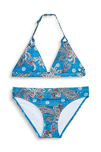 ESPRIT Neckholder-Bikini-Set mit Paisley-Print