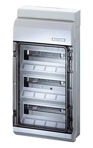 Hensel KV 90-Automatengehäuse KV 9336 NT 36 TE, IP 65 ENYBOARD Installationskleinverteiler 4012591130208