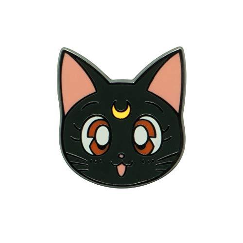Sailor Moon Luna Frauen Pin multicolor Metall Anime, Fan-Merch, Filme, Katzen, TV-Serien