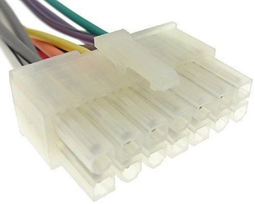 PIONEER (08) câble adaptateur pour autoradio iSO faisceau de câble de raccordement