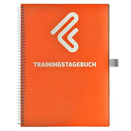 Trainingstagebuch DIN A5 für Home Gym, Krafttraining, Fitnessstudio, Bodybuilding & Cardio | 132 Seiten