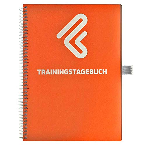 Trainingstagebuch DIN A5 für Home Gym, Krafttraining, Fitnessstudio, Bodybuilding & Cardio | 132 Seiten
