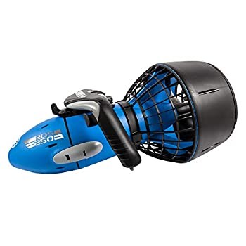 Yamaha RDS250 Seascooter with Camera Mount Recreational Dive Series Underwater Scooter Blue/Gray Large