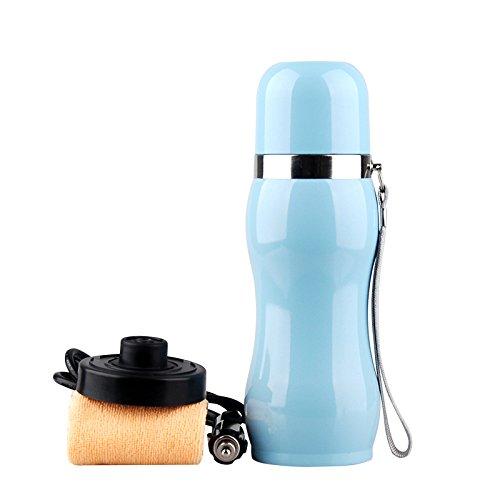Ruirui-Pot de 12V en Voiture INOX Eau Chaude, Bouilloire électrique, Chauffe Eau Tasse, Blue