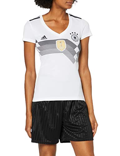 adidas Damen Dfb Home Replica Trikot, weiß(White/Black), L