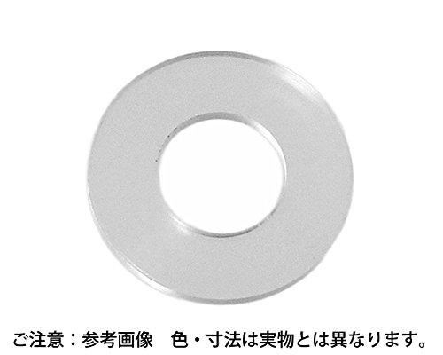 プラスチック 丸ワッシャー サイズ3X8 入数500【ハイロジック】