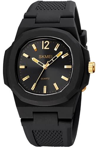 Reloj Analógico de Cuarzo para Hombre Impermeable Relojes Business Casual Deporte Reloj de Pulsera