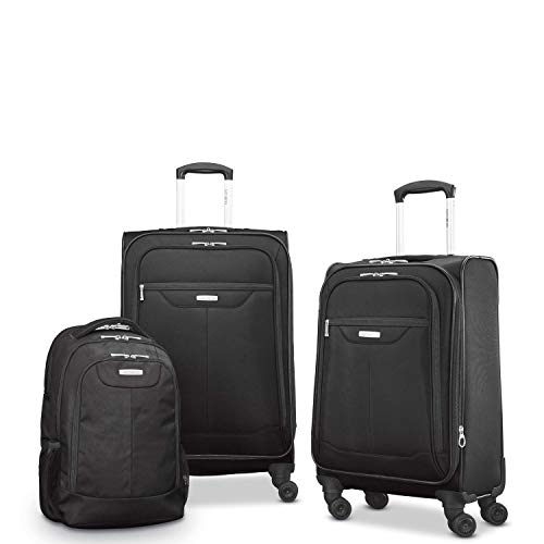 Samsonite Tenacity 3 Piece Set - Luggage - Black Color