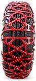 Wangcong Cadenas de Nieve para automóviles Cadenas de Ruedas universales Cadenas de neumáticos Cadena de tracción de neumáticos, fácil de Montar Antideslizante para neumáticos Tracción de Emerge