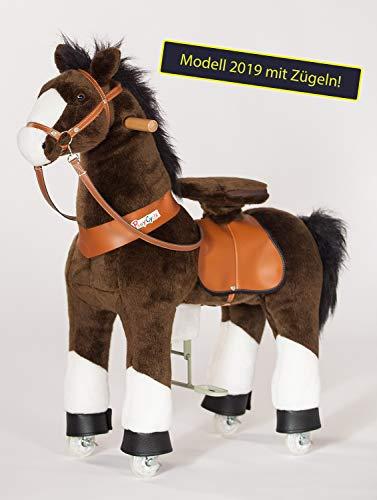 PonyCycle Inline Animals by Choky Modell 2019 mit Zügeln (Größe: medium): Das revolutionäre Kinderfahrzeug auf Inline-Skates