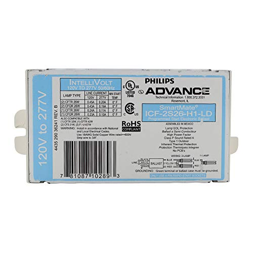 Advance 10289 - ICF-2S26-H1-LD Compact Fluorescent Ballast