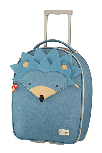 Samsonite Happy Sammies Upright Valigia per Bambini, 45 cm, 23 L, Blu (Hedgehog Harris)