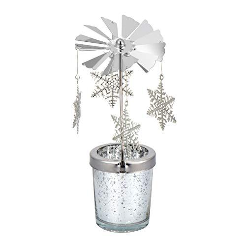Beaupretty Schneeflocke Kerzenhalter Tee Kerzenhalter Urlaub Kerzenhalter Weihnachten Ferienhaus Tisch Kamin Fensterdekoration