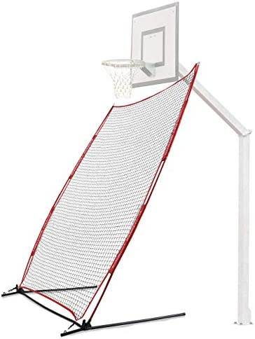 Rukket Basketball 6x10 Adjustable Return Net Guard and Backstop Hoop Rebound Back Netting Attachment product image