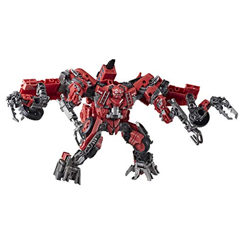 Transformers Toys Studio Series 66 Leader Class Revenge of The Fallen Constructicon Overload Action Figure - Kids Ages 8 and Up, 8.5-inch